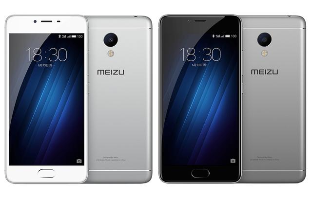 Meizu M3S tích hợp cảm biến vân tay trên phím Home ở mặt trước, cho thời gian nhận diện chỉ sau 0,2 giây