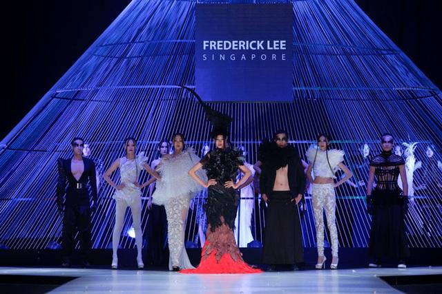 Các thiết kế trong BST của NTK Frederick Lee mang đến Tuần lễ thời trang quốc tế Việt Nam 2014