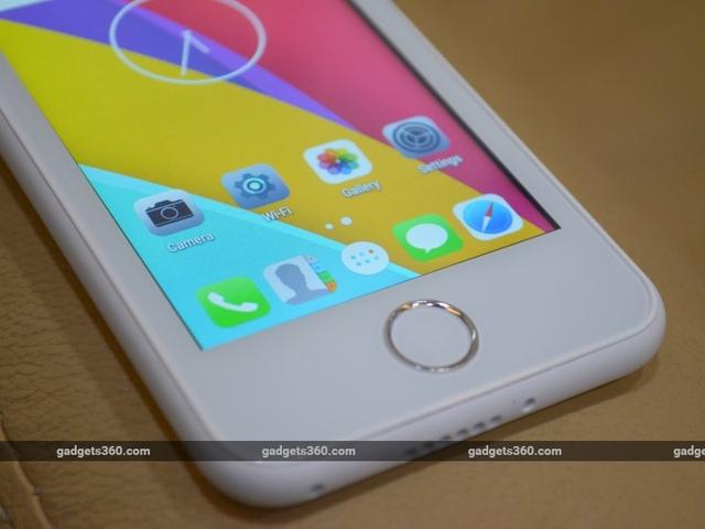 Freedom 251 chạy trên hệ điều hành Android 5.1 Lollipop song thiết kế các icon tương đối giống iOS của Apple