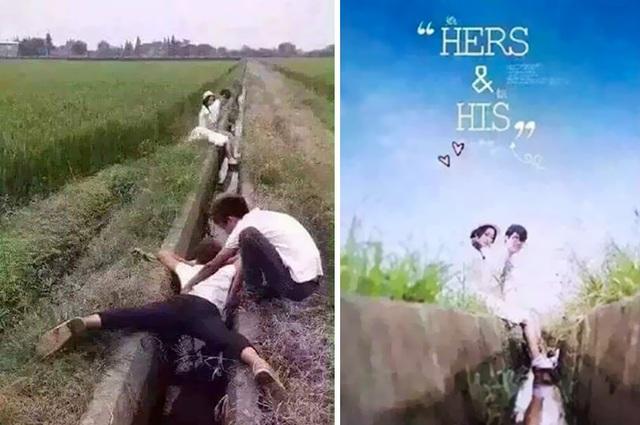 Đằng sau ảnh cưới lung linh như poster phim là khoảnh khắc hy sinh vì nghệ thuật của nhiếp ảnh gia.