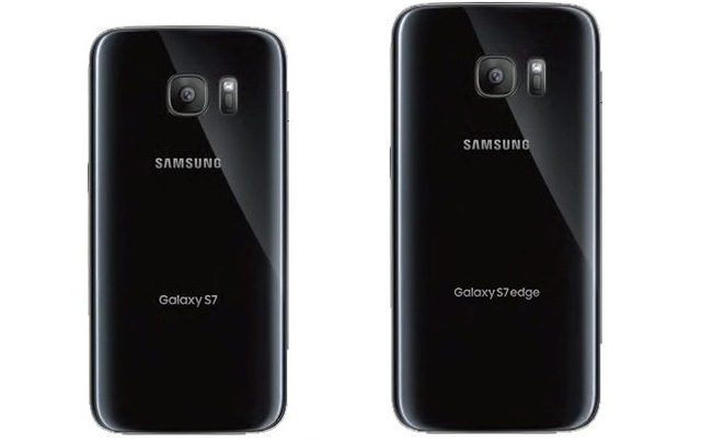 Mặt sau của Galaxy S7 và Galaxy S7 Edge