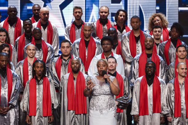100 thành viên của Voices of Gospel đến từ hơn 20 quốc gia khác nhau (Ảnh: ITV)
