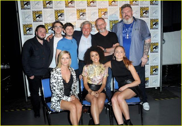 Đoàn làm phim Game of Thrones tại sự kiện Comic Con 2016