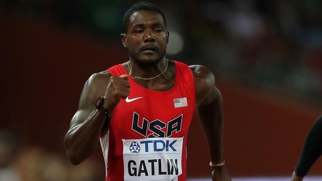 Justin Gatlin từng giành HCV Olympic