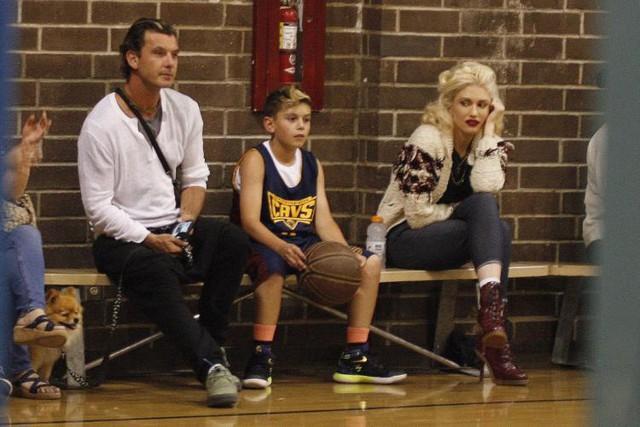 Gavin Rossdale và Gwen tuyên bố ly hôn sau 13 năm chung sống và có chung 3 con trai. (Ảnh: NY Daily News)