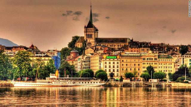 8. Geneva (Thụy Sĩ)