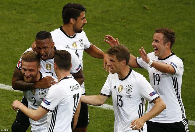 ĐT Đức luôn được đánh giá cao tại các giải đấu lớn và họ hiện đang là nhà ĐKVĐ thế giới. Ảnh: UEFA