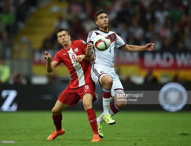 Trận đấu duyên nợ giữa Đức và Ba Lan luôn hấp dẫn và hứa hẹn kịch tính. Ảnh: Getty