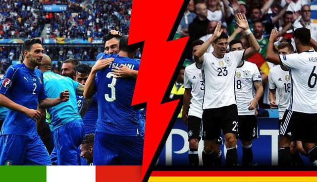 Trận đấu giữa Đức và Italy rất được NHM chờ đợi tại EURO 2016 này.