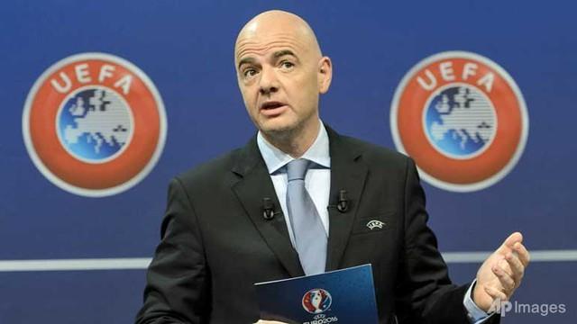 TTK UEFA Gianni Infantino đang là ứng cử viên hàng đầu