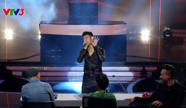 Thí sinh Nguyễn Phong Hải trình diễn beatbox phong cách EDM