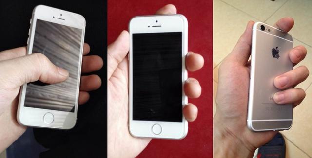 Hình ảnh trên tay iPhone 6C