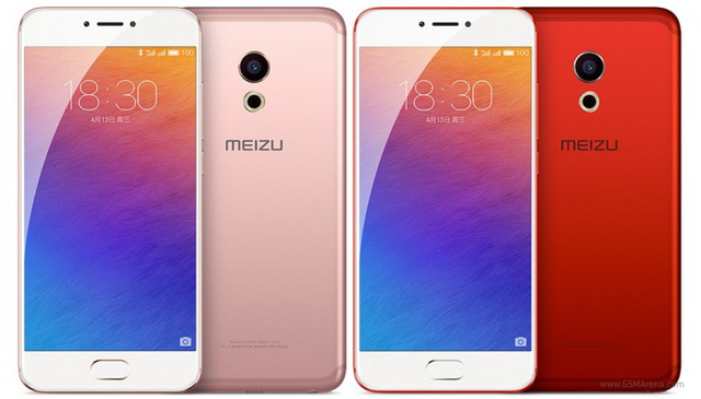 Hai màu mới cực bắt mắt của Meizu Pro 6: Rose Gold (vàng hồng) và Flame Red (đỏ rực)