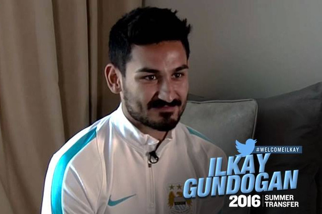 Gundogan đã dính chấn thương từ trước khi sang Man City