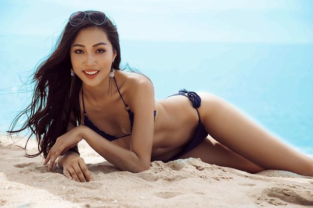Hoa khôi Diệu Ngọc sinh năm 1990, đến từ Đà Nẵng. Cô sở hữu lợi thế chiều cao 1,8 m, cùng thân hình nóng bỏng. Diệu Ngọc là đại diện Việt tham gia cuộc thi Hoa hậu Thế giới 2016.