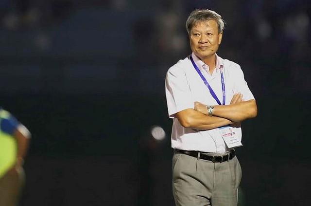 HLV Lê Thụy Hải là một HLV đầy cá tính của làng bóng đá Việt Nam