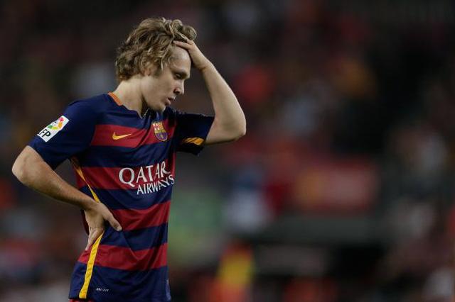 Halilovic chìm nghỉm trong màu áo Barcelona suốt 2 năm qua. Ảnh: Marca