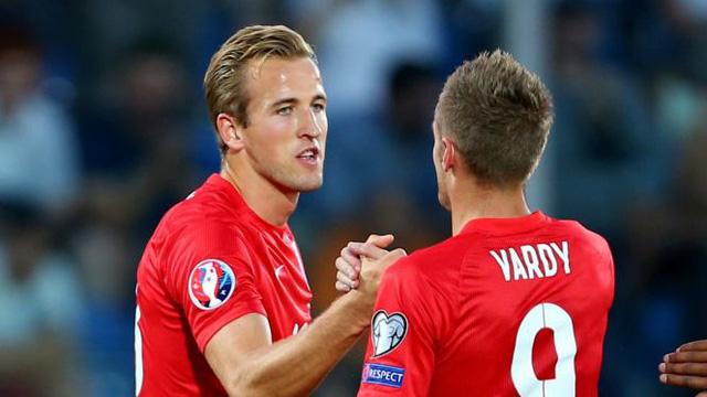 Harry Kane và Jamie Vardy sẽ mang lại chiến thắng cho đội tuyển Anh?
