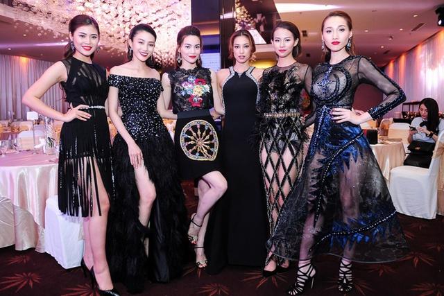 Hồ Ngọc Hà và 5 học trò trong chương trình The Face