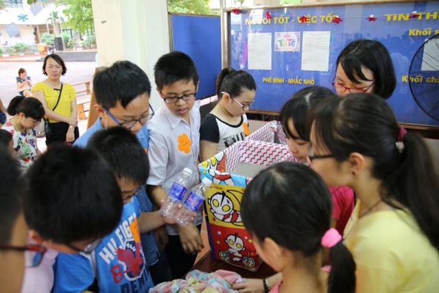 Một giờ học của các em học sinh trường Nguyễn Tất Thành