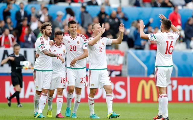 Niềm vui chiến thắng của ĐT Hungary sẽ tiếp tục nối dài? Ảnh: Getty