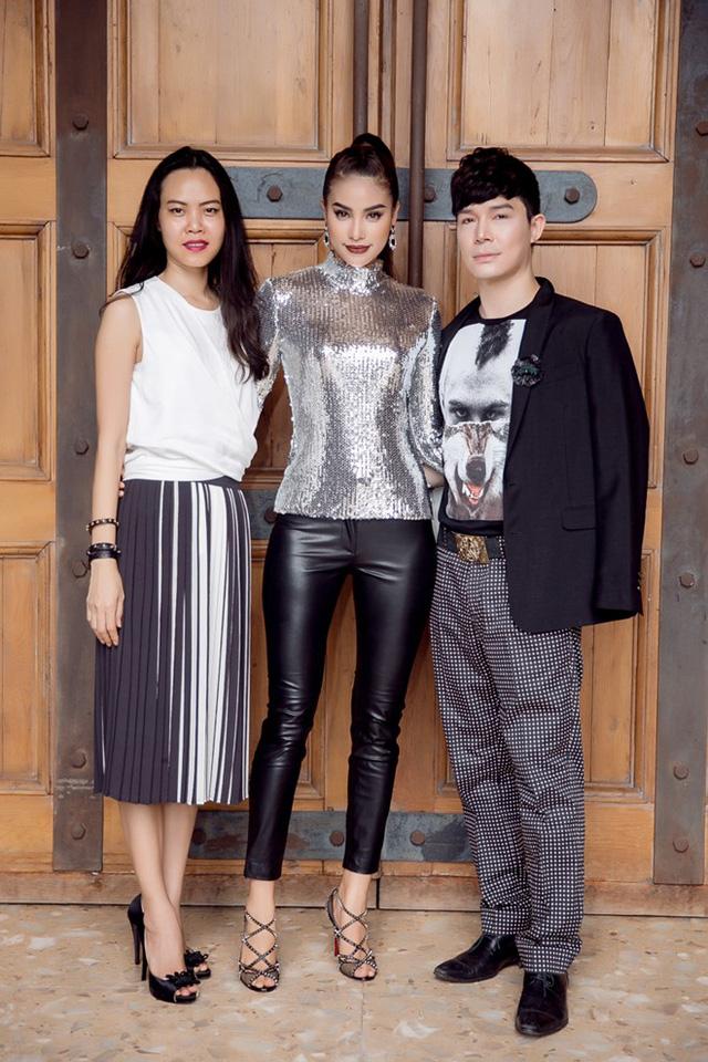 Nhà thiết kế Hoàng Ngân và ca sĩ Nathan Lee góp mặt trong dàn nghệ sĩ tham gia The Face.