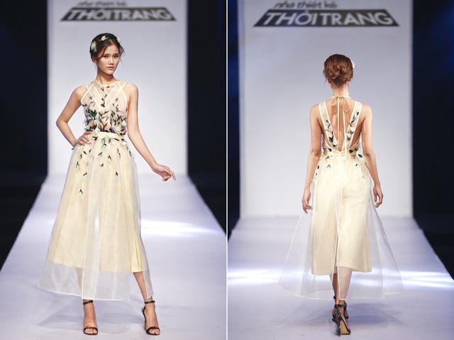 Thiết kế giúp Trần Hùng giành vé vào chung kết
