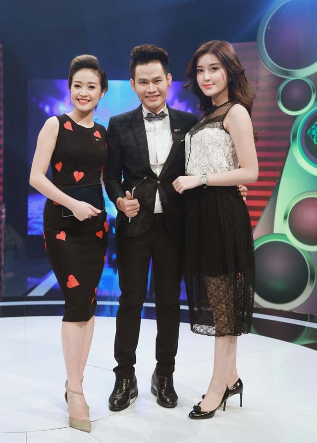 Huyền My và MC Phí Linh, Hồng Phúc