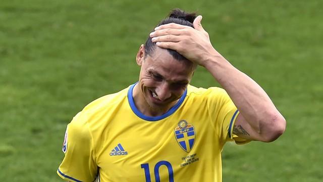 Ibra hiện chưa ghi bàn ở VCK EURO 2016 sau 2 trận.