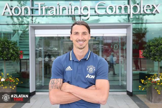Ibrahimovic ra mắt Man United cách đây không lâu. Ảnh: CLB Manchester United