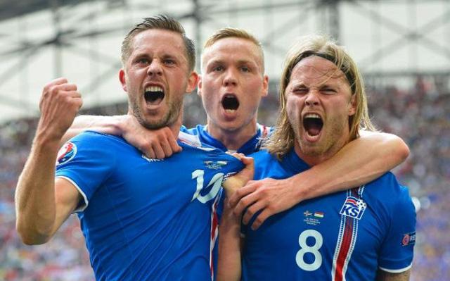 Iceland rất thoải mái về tâm lý và họ bước vào trận đấu này với tâm thế chẳng còn gì để mất. Ảnh: UEFA
