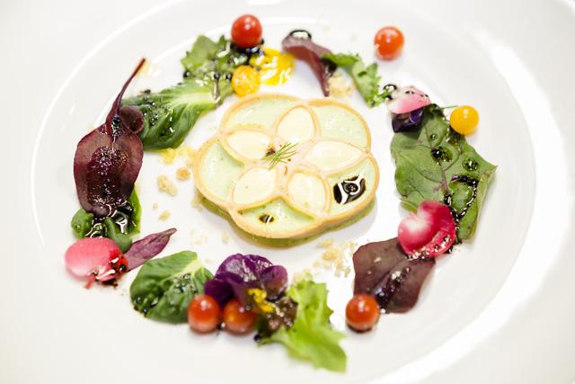 Một món ăn được làm từ công nghệ in 3D tại nhà hàng Food Ink (Ảnh: www.timeout.com)