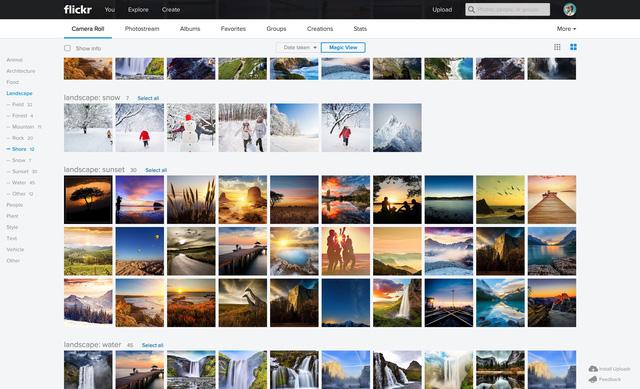 Flickr sở hữu kho lưu trữ ảnh khổng lồ