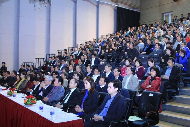 Hội nghị có sự tham gia đông đảo của các đại biểu ban, ngành trung ương và cán bộ quản lý trong Đài