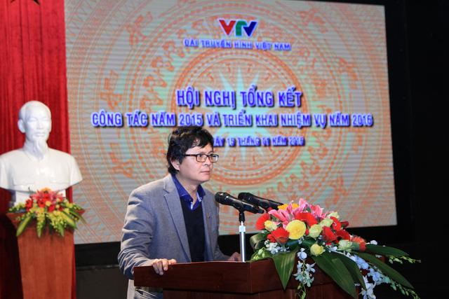 Ông Trần Bình Minh, Tổng Giám đốc Đài THVN phát biểu tại Hội nghị