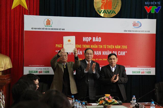 Tại lễ phát động, Hội nạn nhân chất độc da cam Việt Nam cũng ra mắt Tạp chí Da cam nhằm vận động các tổ chức, cá nhân tiếp tục giúp đỡ nạn nhân da cam về tinh thần và vật chất.