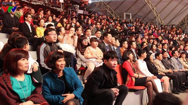 Rất đông khán giả là những người gắn bó với VTV3 qua từng thời kỳ có mặt tại bữa tiệc sinh nhật lần này
