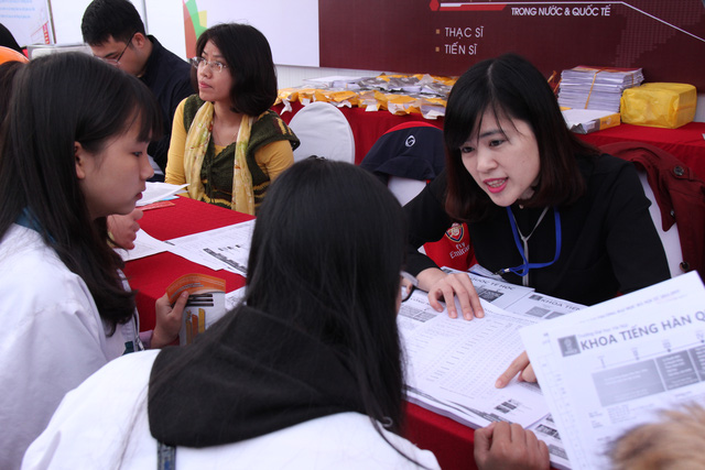 Gian tư vấn của Đại học Hà Nội.