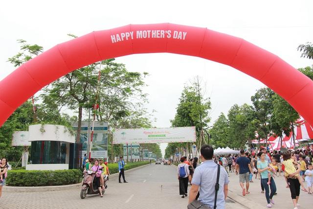 Sự kiện Ngày của Mẹ năm nay được tổ chức hoành tráng tại Khu đô thị Park City Hà Nội