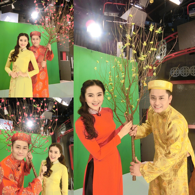 MC Mai Ngọc cùng MC Trung nghĩa thực hiện một chương trình cho Tết Nguyên đán. Năm nay, Mai Ngọc vẫn tham gia dẫn các bản tin thời tiết trong những ngày Tết và chỉ được xả hơi từ ngày mùng 5 Âm lịch.