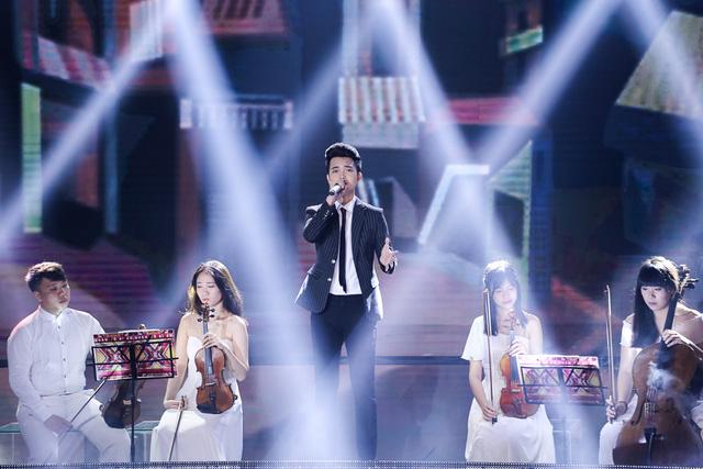 Tuấn Phương thể hiện một ca khúc viết về mẹ của Yến Lê mang tên Cho con được thay cha