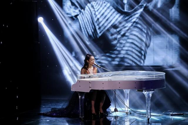 Kiều Diễm thể hiện một ca khúc Rock trong phần thi thứ 2