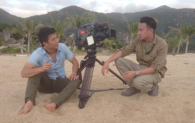 BTV Việt Phong và quay phim Văn Khương
