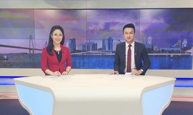 BTV Việt Phong và BTV Vân Anh là một cặp dẫn ăn ý trong mỗi chương trình Chào buổi sáng (Ảnh do nhân vật cung cấp)