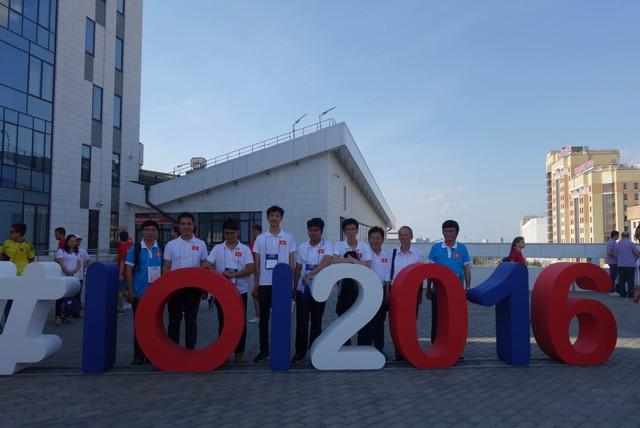 ĐTQG Olympic Tin học Quốc tế 2016 của Việt nam tại CHLB Nga