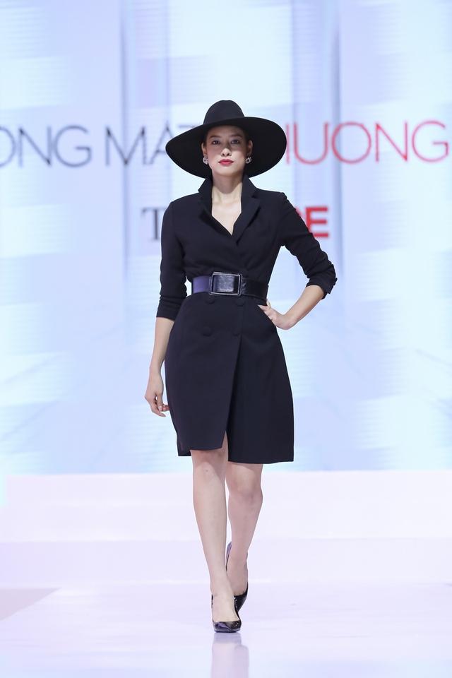 Mặc dù có ngoại hình mập mạp, đôi chân thô nhưng Lily Nguyễn lại khéo chọn trang phục che đi những khuyết điểm này. Thêm vào đó, nhờ kinh nghiệm làm người mẫu hơn 6 năm, cô dễ dàng tạo được cá tính khác biệt khi lướt trên đường băng của The Face.