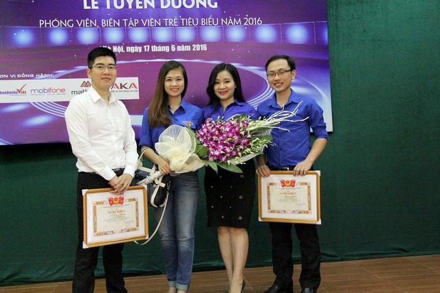 Những gương mặt tiêu biểu của Đoàn Đài Truyền hình Việt Nam vinh dự đón nhận bằng khen trong lễ tuyên dương