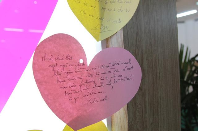 Đến với Ngày hội Gia đình Việt Nam, các bậc cha mẹ hay những em nhỏ còn có cơ hội nhắn tới người thân những lời yêu thương