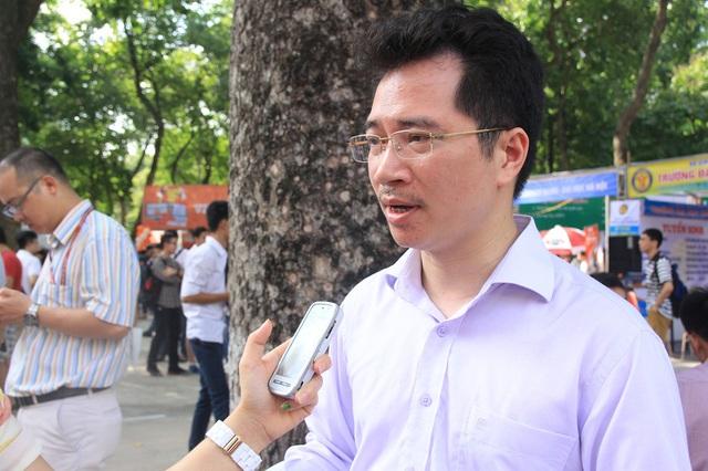PGS.TS Bùi Xuân Nam cho rằng, các em đăng ký xét tuyển trong các trường thuộc nhóm GX sẽ có cơ hội đỗ vào trường cao hơn