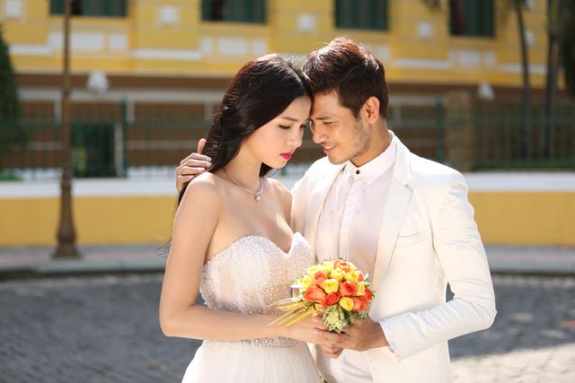 Ảnh cưới của Kỳ Hân trong phim Những ngọn nến trong đêm 2